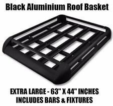 Black Roof Rack fits Pajero Shogun Isuzu Jeep Rangerover Freelander Platform box