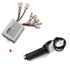 24V 500W Motor Brush Speed Controller & Electric Bike Scooter Throttle Grip
