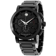MOVADO Museum Sport Black Dial Men's Chronograph Watch 0607001