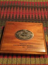 PARTAGAS Wood Travel Cigar Box Humidor 1998 No. 111