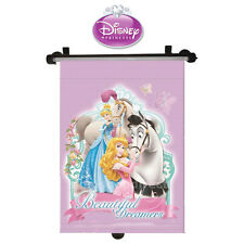 Disney Princess Car Window Roller Blind Sun Shade Children Kids Baby Girl
