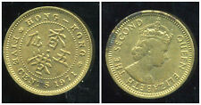 HONG KONG 5 cents five 1971
