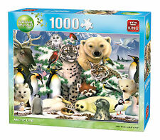 NEW! King Animal World Arctic Life 1000 piece jigsaw puzzle