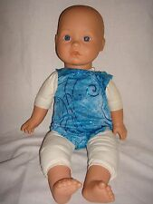 """Leotard /Swimsuit deal for a teddy Mascot will  Fit  Baby Born/Anabel16/18"""" Doll"""