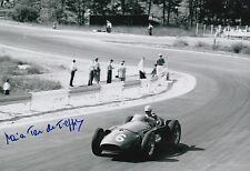 Maria Teresa de Filippis Hand Signed Maserati 12x8 Photo.