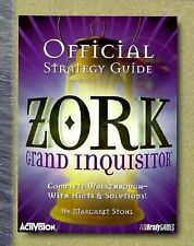 Zork: Grand Inquisitor Official Guide (Official Strategy Guides)