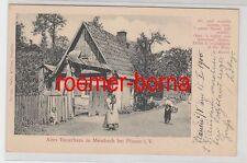 79062 Ak Altes Bauernhaus in Messbach bei Plauen im Vogtland 1900