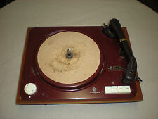 VTG ELAC MIRACORD XA100 ELECTROACUSTIC TURNTABLE WESTERN GERMANY SHURE CARTRIDGE
