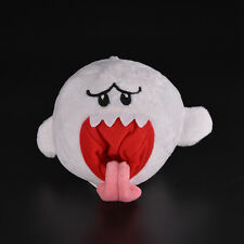 1 Pcs Ghost White Stuffed Plush Doll Toy for Super Mario Brothers Boo Ghost WB
