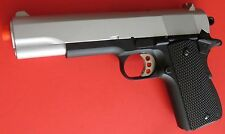 Super Full Metal M1911 Airsoft Spring Pistol W/Open Ejection Port, Active Hammer
