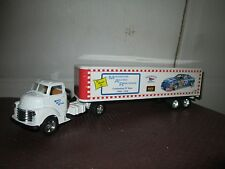 Marcus auto racing Ertl 1950 GMC C60 chevy COE semi  1:43 O Scale 1 of 500