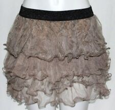 S M LOLITA TRIBAL BURLESQUE GOTHIC BOHO BELLY DANCE DANCING CRINOLINE MINI SKIRT