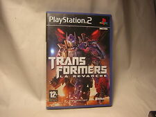 playstation 2 Transformers : La Revanche  PS2
