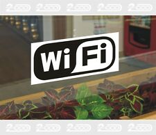 1 ADESIVO WI-FI WIRELESS INTERNET ACCESS FREE,PUB,BAR,DISCO,NEGOZIO,STICKER