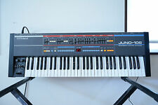 Roland Juno-106 Analog Synthesizer polysynth professional overhauled!!