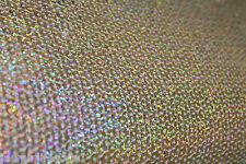 NewShiny Sequin Glitzy Dancing Bridal Costume Curtain Stretchy Fabric Material
