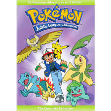 Pokemon: Johto League Champions The Complete Collection 5 Disc DVD
