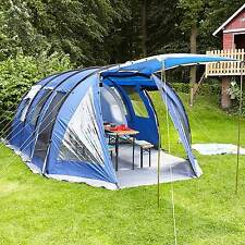 SKANDIKA CANYON II 5 PERSON/MAN FAMILY TENT TUNNEL LARGE CAMPING BLUE NEW