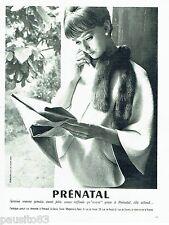 PUBLICITE ADVERTISING 106  1962  Prénatal vetements grossesse maternité  Sieff