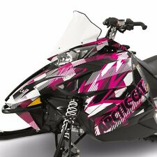 Arctic Cat 2012-2016 ZR F XF M Pink Strobe Hood Decal Wrap Kit 6639-360