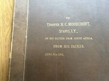Boer War prints of Officers,bound in a book,over 70