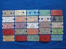 25 Vintage Movie Theatre & Drive In Theatre Tickets Lot (Cinema) #2