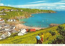 B102651 the beach and harbour gorran haven mevagissey cornwall   uk