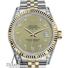 Woman's Rolex 26mm Datejust Champagne Color Diamond Accent Dial