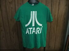 vintage Atari shirt 80s true vintage green medium