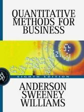 Quantitative Methods for Business [May 12, 2000] Anderson, David R.; Sweeney, ..