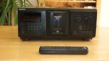 Sony CDP-CX335 CD Changer - 100% good - NEW BELTS - REMOTE CONTROL -TESTED