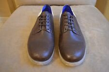 DIESEL BROWN COLOR BLOCK WHITE BROWN PERFORATED LEATHER TIP OXFORDS SHOES 9 42