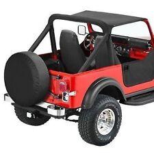 Bestop 52518-15 Bikini Tops Strapless Black Denim fits 1980-1986 Jeep CJ-7 New