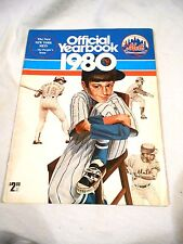 1980 New York Mets Year Book  VGX