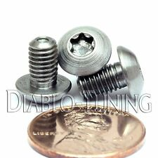 TITANIUM M5 x 8mm - BUTTON HEAD Cap Screw BHCS - T25 TORX drive / Star / 6lobe