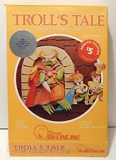 Rare 1983 Vintage APPLE II Computer Game TROLL'S TALE by Sierra On-Line