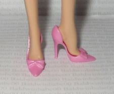 * SHOES ~ BARBIE DOLL MODEL MUSE PEARL PINK BOW BIRTHDAY WISHES PUMPS HIGH HEELS