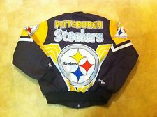Vintage Chalk Line Pittsburgh Steelers Jacket Size Large - Good Condition