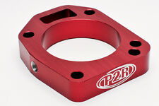 P2R 02-05 Honda Civic Si Red Throttle Body Spacer K20A3 Vtec P307R EP3