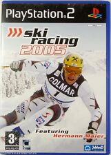 SKI RACING 2005 jeu video Hermann Maier pr console PlayStation 2 Sony PS2 sport