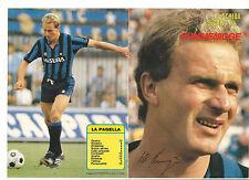 La Scheda Segreta di... RUMMENIGGE Intrepido Sport 1985 Inter autografata con fi