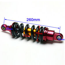 "260mm 10"" Motorcycle ATV Scooter Shock Absorber Rear Suspension Dirt Pit Bike"
