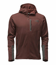 The North Face Men's CANYONLANDS HOODIE Fleece Hooded Jacket Sequioa Red Hetr M