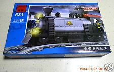 Enlighten Building Toy 224 piece Bricks Train Heavy Duty Steam Locomotive #631
