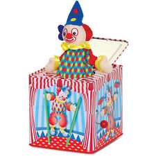 Childs Kids Traditional Style Musical Clown Pop Up Jack In The Box Toy 08848