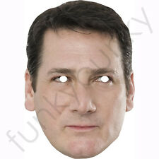 Tony Hadley, Spandau Ballet, 1980s Celebrity Card Mask.All Our Masks Are Pre-Cut