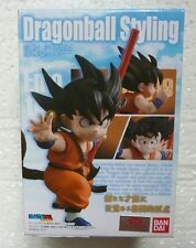 DRAGONBALL DRAGON BALL STYLING SON GOKOU 75mm FIGURE BANDAI