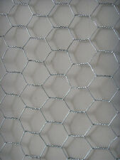 CHICKEN FENCE MESH Wire Net Fencing 25m x 0.9m 50mm HD 900mm Poultry Hex Netting