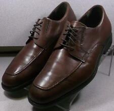152043 MS50 Men's Shoe Size 9 M  Brown Leather Lace Up Johnston & Murphy