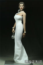 1/6 Customize Female Clothing dress White Pearl For Phicen Large Bust doll model